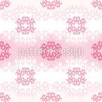 Vibrações suaves Design de padrão vetorial sem costura