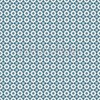 シンプルなユリ柄。 シームレスなベクトルパターン設計