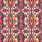 Ikat Abstrato Design de padrão vetorial sem costura