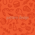 It Is BBQ Time Seamless Vector Pattern Design