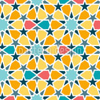Arabic Star Tiles  Seamless Vector Pattern Design