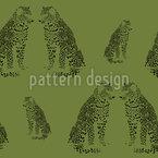 Noch Ein Leopard Nahtloses Vektormuster