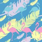 Flamingogefieder Rapport