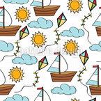 Windspieler Vektor Muster