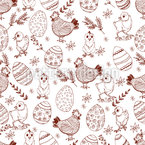 Easter Mood Seamless Pattern