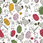 Excitement At Easter Seamless Pattern