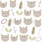 Cats And Numbers Vector Ornament