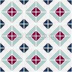 Portuguese Floor Seamless Vector Pattern Design