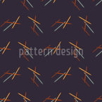 Bewegende Linien Vektor Ornament