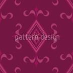 Gothic Magenta Seamless Pattern