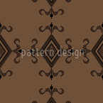 Gothic Brown Vector Pattern