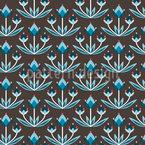 Bud Diamante Estampado Vectorial Sin Costura