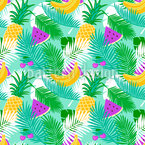 Tropical Fruit Vector Design
