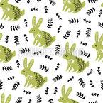 Das Oberhaupt der Kaninchen Vektor Design