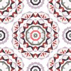 Dragon Eyes Seamless Vector Pattern