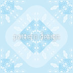 Rounded Snowflake Pattern Design