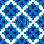 Edged Checks Vector Pattern