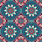 Mandalas Und Fliesen Muster Design