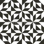 Simple Geometrische Perfektion Nahtloses Muster