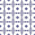 Portugiesisches Azulejos Rapportiertes Design