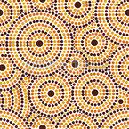Aborigines Punkt Nahtloses Vektormuster