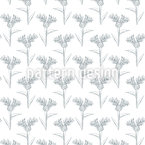 Cloned Flower Seamless Vector Pattern Design