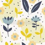 Paper Cut Flowers Vector Design