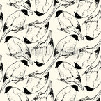 Sketched Birds Seamless Vector Pattern Design