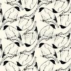 Sketched Birds Pattern Design