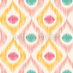 Ikat Woodgrain Seamless Vector Pattern Design