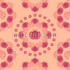 Zarte Tulpenkränze Vektor Muster