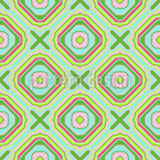 Crosses And Squares Pattern Design