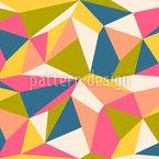 Mehrfarbige Polygone Nahtloses Muster