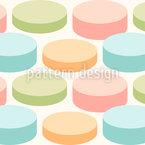 Pillen Nahtloses Vektor Muster