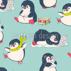 Pinguin Hat Spaß Designmuster