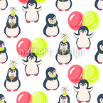 Birthday Of Penguin Vector Ornament