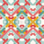 Square Cross Repeat Pattern