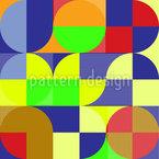 Circulating Rectangles Vector Design
