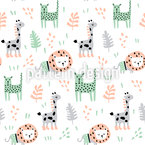 Wonderful Safari Seamless Vector Pattern