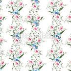 Cottage Flowers Design Pattern