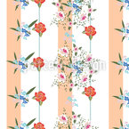 Cottage Bouquets Seamless Pattern
