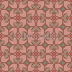 Art Deco Interweavings Seamless Vector Pattern Design