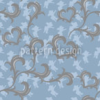 Angeli Azur Seamless Vector Pattern Design