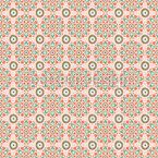 Rundes Sindhi Vektor Muster