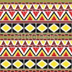 Afrikanische Stammesbordüre Nahtloses Vektormuster