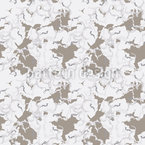 Camouflage Clouds Seamless Pattern