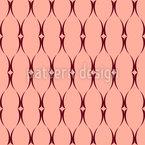 Geschweifte Klammer Muster Design