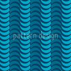 Ovale Wellen Musterdesign