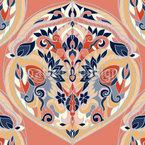 Lebendige Blumensträuße Muster Design