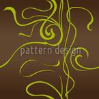 Moulin Nouveau Brown Seamless Vector Pattern Design